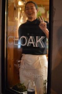 喫茶CLOAKのアベさん。写真からも溢れ出る良い人感